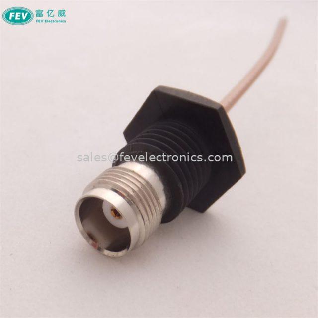 RF Connector TNC female straight for RG178/RG316/RG1.13/RG1.37/RG1.32/RG58/RG174 coax cable