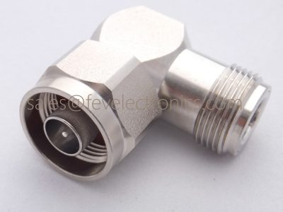 Right Angle 90 degree N type Male to Female Adapter RF Coaxial Connector