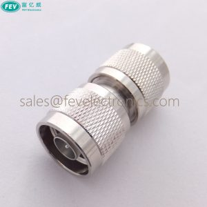 N Male to N Male Straight Connector Wi-Fi Adapter Coupler RF Connector